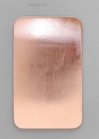 Пластина прямоугольная,медь P004m