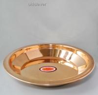 Медная тарелка 22 см МИ001-1