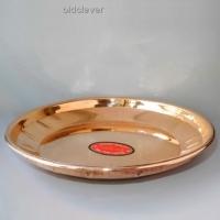 Медная тарелка, 20 см МИ001-5
