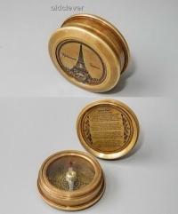 Компас с винтовой крышкой МР009-2