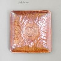 Тарелка сувенирная медная квадратная МD017