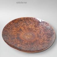 Тарелка сувенирная Грифон медная круглая Т29.033