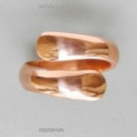 Кольцо медное Спираль 1 виток МК016