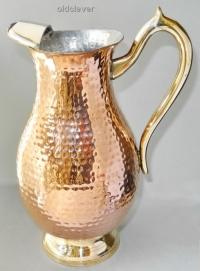 Кувшин медный кованый 1,7л МИ023-1