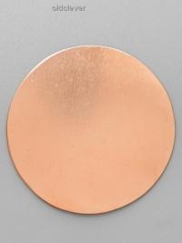 Пластина круглая,медь P008-1m