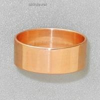 Кольцо Обручальное, медь МК001-2