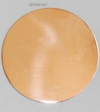 Пластина круглая,медь P008-2m