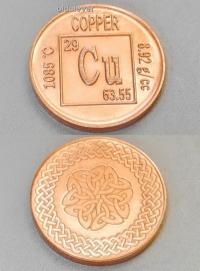 Медная монета COPPER ММ001