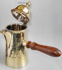 Турка-кофейник латунь 400мл МИ022-1