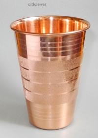 Медный стакан 250 мл МИ012-6