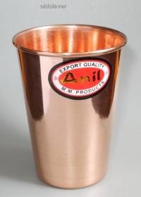 Медный стакан 350 мл МИ012-7